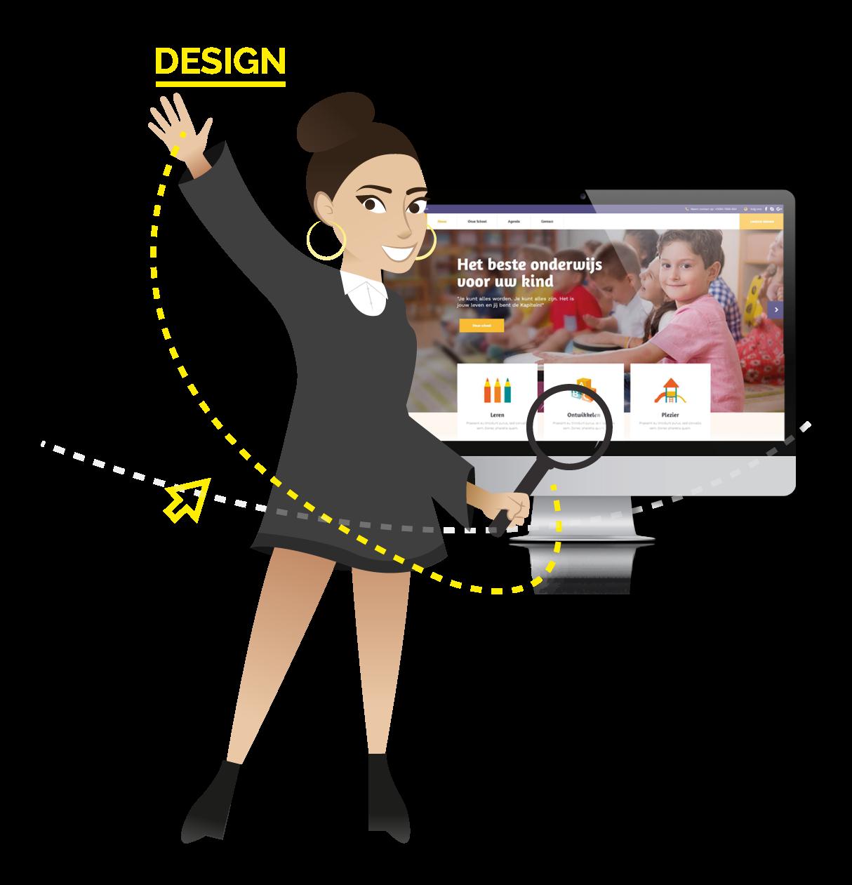website basisschool - Singalita